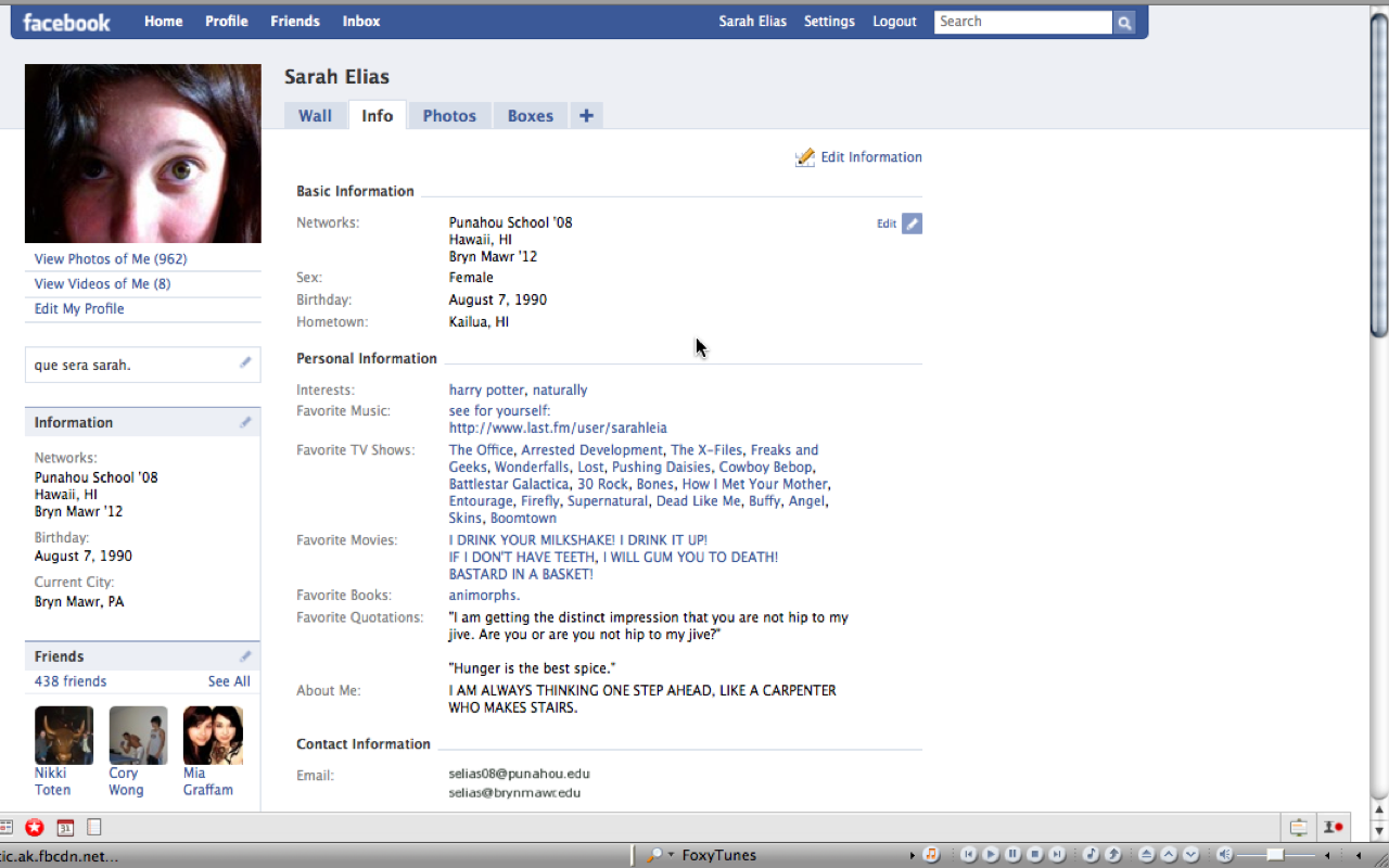 looking my facebook profile related keywords suggestions so i took a screenshot of my facebook pro as is
