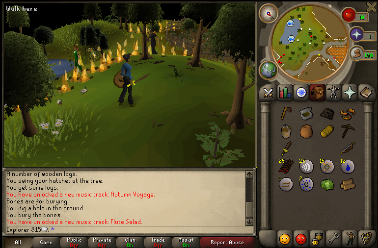 In Lumbridge
